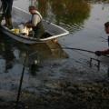 Eendegat achter de Sprong in Ooij afgevist 18-02-2012