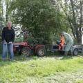 Vrijwilligerswerk-Afscheiding boerenlandpad Kasteelschehof NHV de Voorn 2009